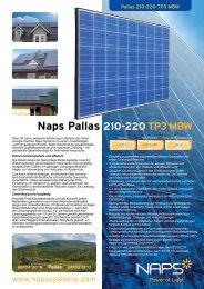 Naps Pallas 210-220 TP3 MBW - Reimann Solar GmbH