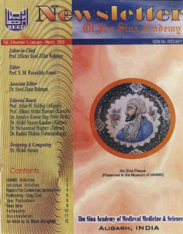 NISA 2003; 3(1)