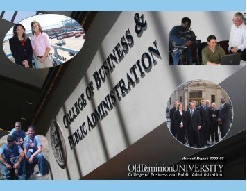 College of Business and Public Administration