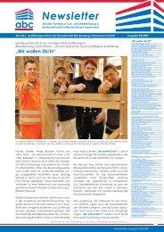 Newsletter - abc Bau GmbH