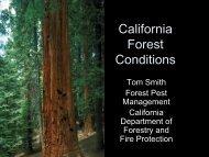 California Forest Conditions - Sonoma Land Trust
