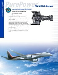 PurePower® PW1200G Engine for the Mitsubishi ... - Pratt & Whitney