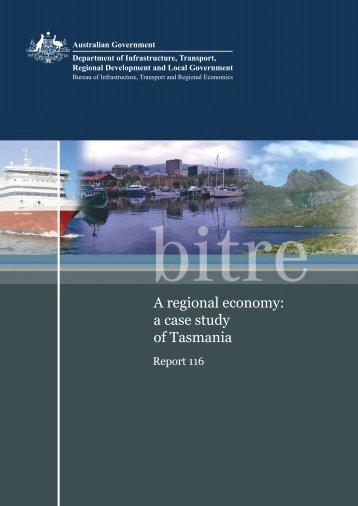 PDF: 5735 KB - Bureau of Infrastructure, Transport and Regional ...