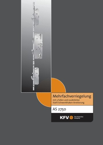 AS 2750 Mehrfachverriegelung - Reinert Bauelemente GmbH