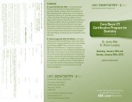 Cone Beam CT Certification Program for Dentistry - UBC Dentistry