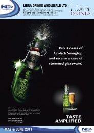 MAY & JUNE 2011 - Libra Drinks