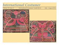 July-August 2012 - International Costumers' Guild, Inc.