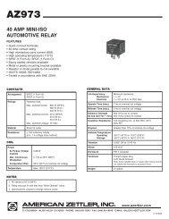 40 AMP MINI-ISO AUTOMOTIVE RELAY