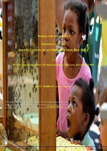 Observation Hives - Large & Associates