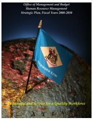 HRM Strategic Plan - Office of Management and Budget - Human ...