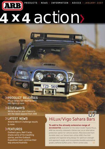 HiLux/Vigo Sahara Bars - ARB
