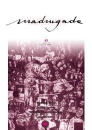 MADRUGADA - Associazione Macondo
