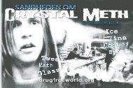 Sandheden om crystal meth og methamfetamin-hæftet