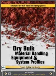 Automated Dry Bulk Material Handling Systems - Chemical Processing