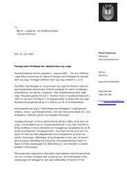 Se brev fra rådmand Flemming Knudsen her...