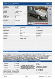 Audi A6 Avant 2.0 TDI 6-Gang 46.900 EUR - Autohaus Schmidt KG