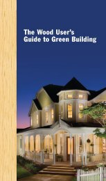 The Wood User's Guide to Green Building - California Redwood ...