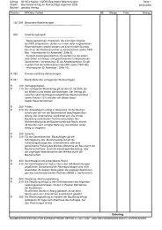 Besondere Bestimmungen - LKW - Liechtensteinische Kraftwerke