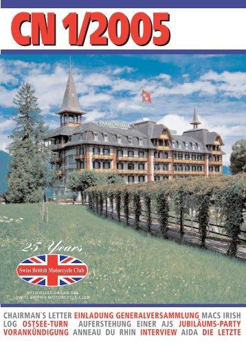 CN 1/2005 - Swiss British Motorcycle Club