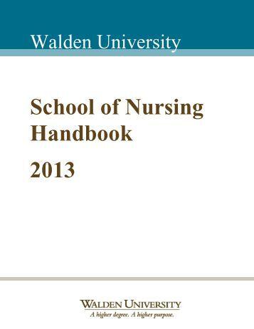 walden university dissertation proposal