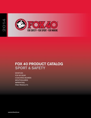 Download PDF file (7.8 MB) - Fox 40 International