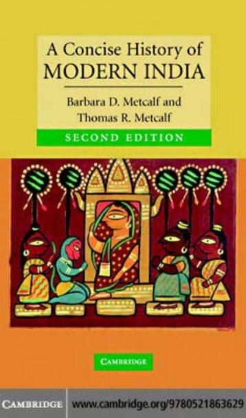 A Concise History of Modern India - Academy of the Punjab in North ...