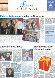 JOURNAL - Hotel - Restaurant Schwanen