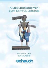 Kaskadensichter zur Entfüllerung - Scheuch GmbH