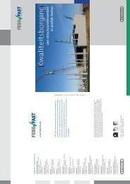 Kwaliteitsborging van structuurelementen in prefab beton - Febe