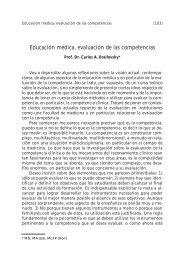 Educación médica, evaluación de las competencias - FMV