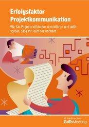 Erfolgsfaktor Projektkommunikation - Citrix Online