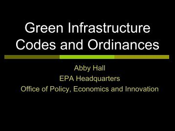 Codes and Ordinances