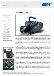 ARRIFLEX D-21 HD