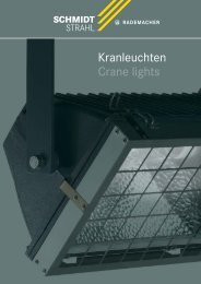 Kranleuchten-Folder - Schmidt Strahl GmbH