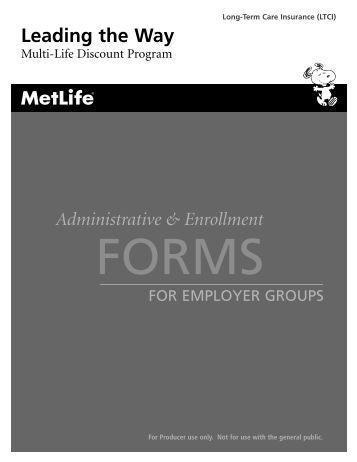 MetLife Multi-Life Program Discounts - Resource Brokerage