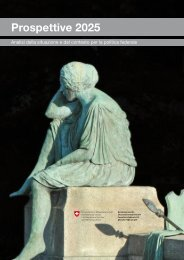 Prospettive 2025: Analisi della situazione e del contesto ... - admin.ch