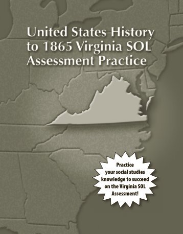 Grade 5 Virginia Sol Test Prep Workbook, Student Edition