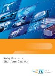 Relay Products Shortform Catalog