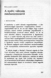 A nyelvi változás mechanizmusáról. In: Pap Mária és Szépe György ...