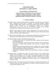 Stratēģiskā vadīšana un līderība - EVF - Latvijas Universitāte