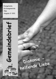 Barmherzige Samariter im KiGo Wenden - Evangelische ...
