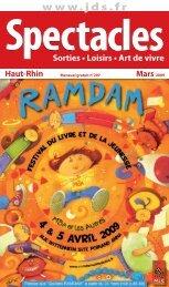 ÉTÉ 2008 Sorties • Loisirs • Art de vivre Mars 2009 Haut-Rhin - JDS.fr