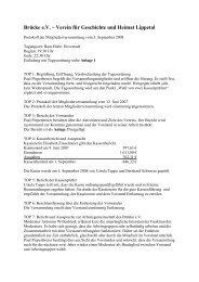2008.09.03 Protokoll der Mitgliederversammlung - Brücke e.V.
