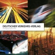 DEUTSCHER VERKEHRS-VERLAG - DVV Media Group Gmbh