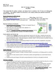 Course syllabus and schedule - Academic Resources at Missouri ...