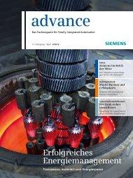 Download advance 2/2012 - Siemens
