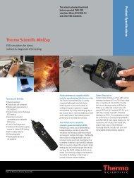 Thermo Scientific MiniZap - Mr Test Equipment