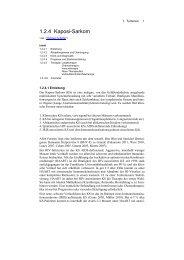 1.2.4 Kaposi-Sarkom - Derma-Net-Online.de