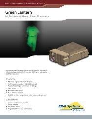 Green Lantern Data Sheet - Elbit Systems of America