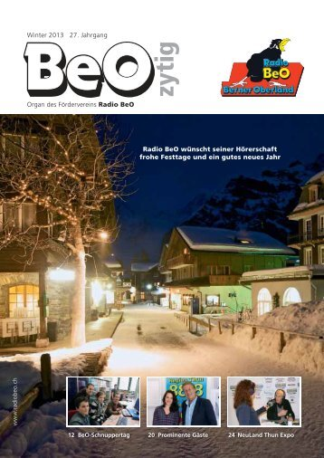 BeO-2013 Nr. 4/2013 - Radio BeO